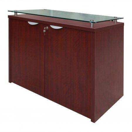 mueble cafe con vidrio 0781 2
