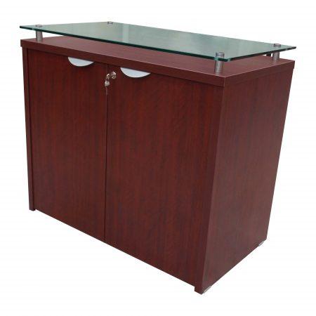 mueble cafe con vidrio 0781