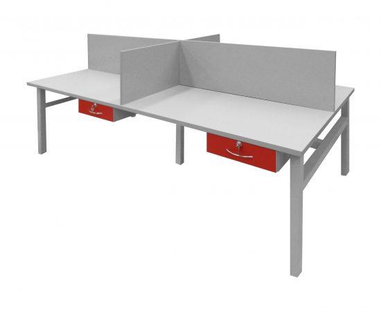 mueble de cuatro espacios 0664 2