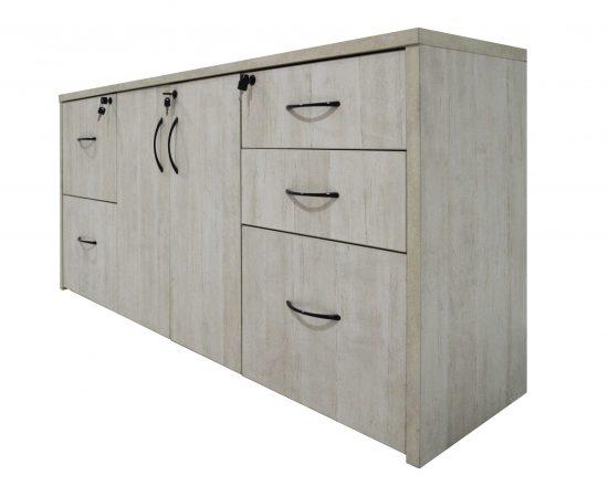 mueble de madera blanco 9860 2