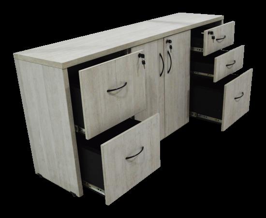 mueble de madera blanco 9875