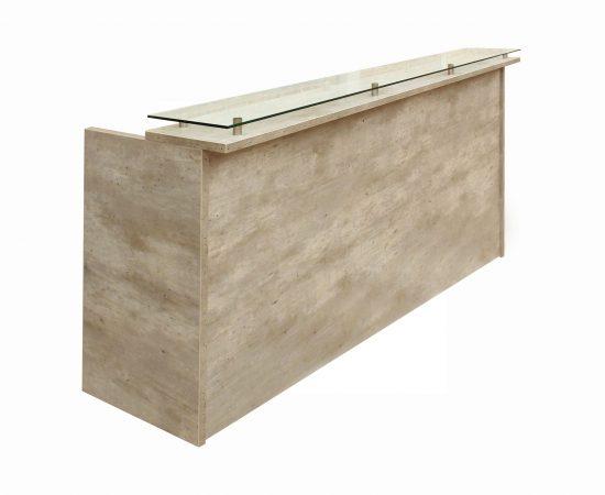 recepción de madera con vidrio 0794 2